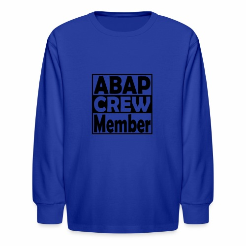ABAPcrew - Kids' Long Sleeve T-Shirt