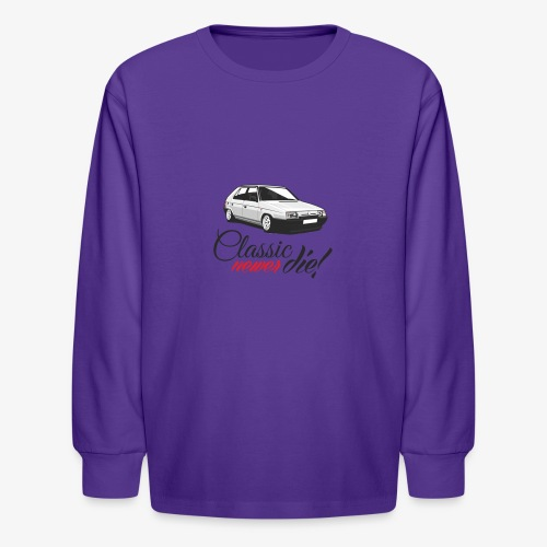 Favorit classic newer die - Kids' Long Sleeve T-Shirt