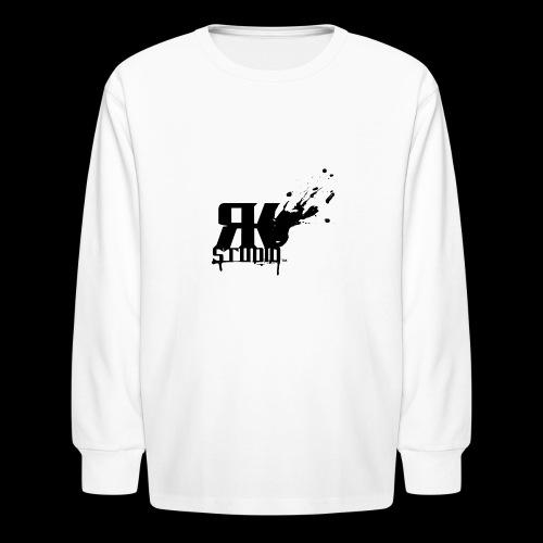 RKStudio Black Version - Kids' Long Sleeve T-Shirt
