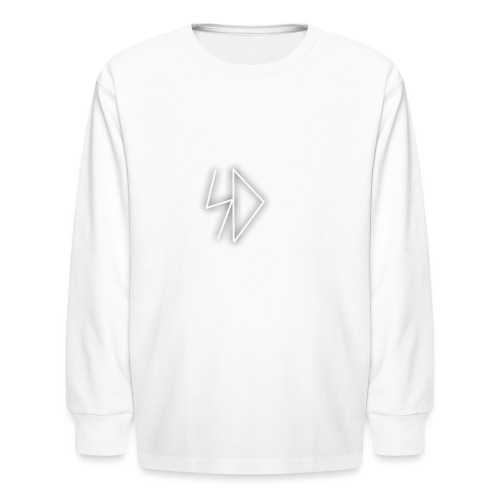 Sid logo white - Kids' Long Sleeve T-Shirt