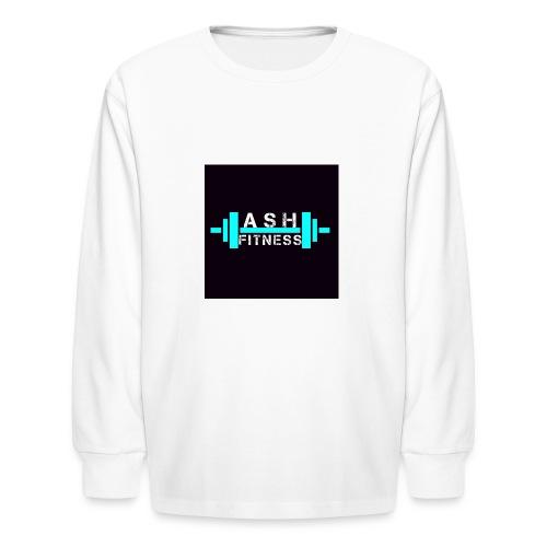 ASH FITNESS ACCESSORIES - Kids' Long Sleeve T-Shirt
