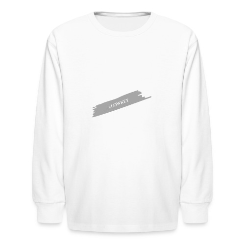 #LOWKEY - Kids' Long Sleeve T-Shirt