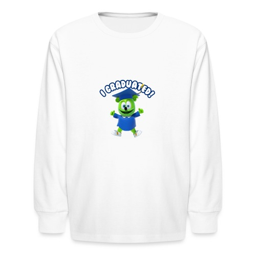 I Graduated! Gummibar (The Gummy Bear) - Kids' Long Sleeve T-Shirt