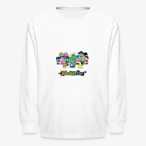BoomWriter collection - Kids' Long Sleeve T-Shirt