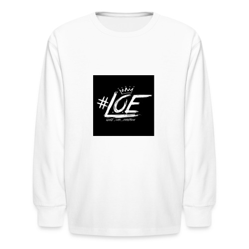 IMG 20170702 015640 - Kids' Long Sleeve T-Shirt