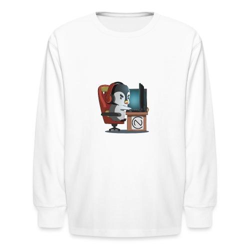TNC Penguin - Kids' Long Sleeve T-Shirt