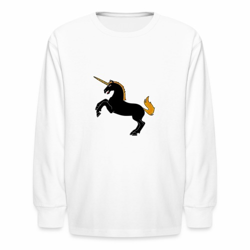 Unicorn - Kids' Long Sleeve T-Shirt