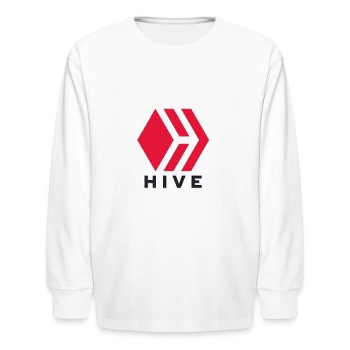 Hive Text - Kids' Long Sleeve T-Shirt