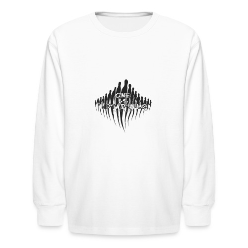 one as individuals - Kids' Long Sleeve T-Shirt
