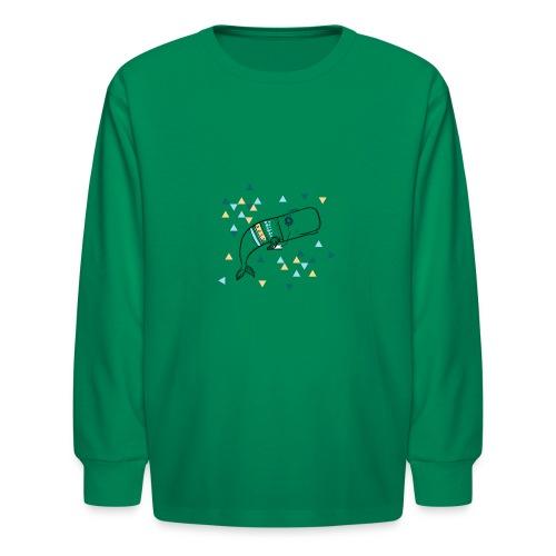 Music Whale - Kids' Long Sleeve T-Shirt