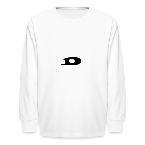 ORIGINAL BLACK DETONATOR LOGO - Kids' Long Sleeve T-Shirt