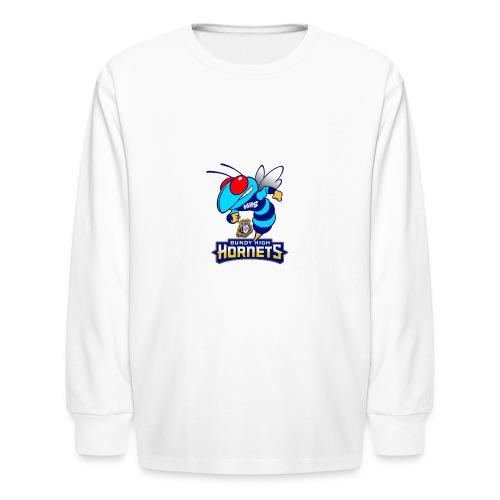 Hornets FINAL - Kids' Long Sleeve T-Shirt