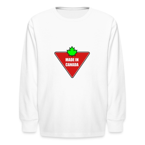 Made in Canada Tire - Kids' Long Sleeve T-Shirt
