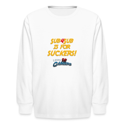 Anti Sub4Sub - Kids' Long Sleeve T-Shirt