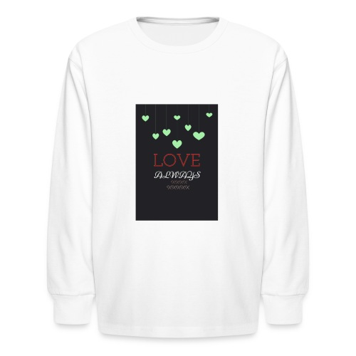 beautifully love always clothing - Kids' Long Sleeve T-Shirt