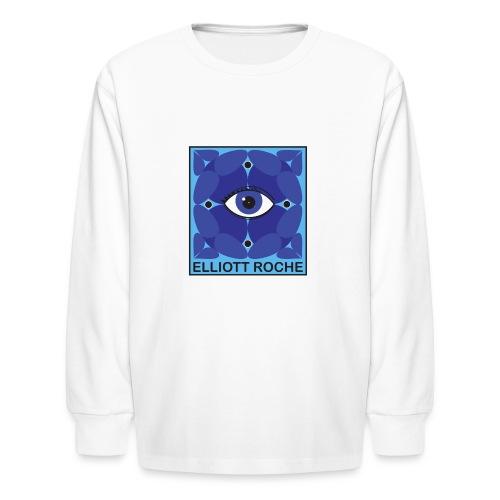 ElliottBlueEye - Kids' Long Sleeve T-Shirt