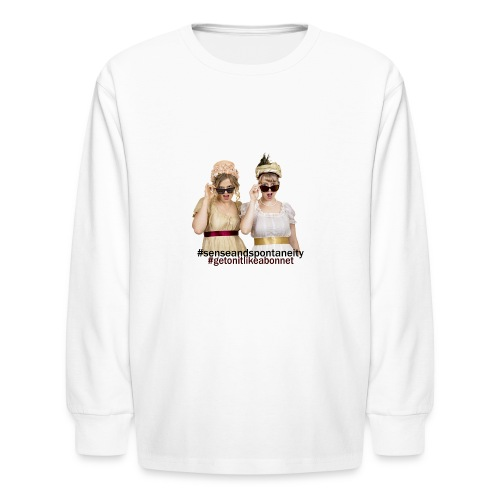 Shady Ladies - Kids' Long Sleeve T-Shirt