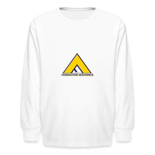 Federation Aerospace - Kids' Long Sleeve T-Shirt
