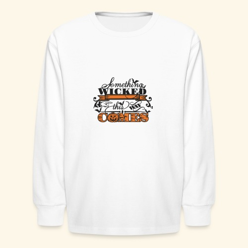 HALLOWEEN TEE - Kids' Long Sleeve T-Shirt