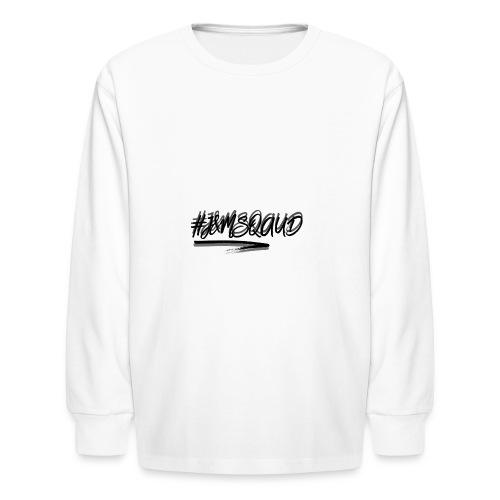 #J&MSquad Logo - Kids' Long Sleeve T-Shirt