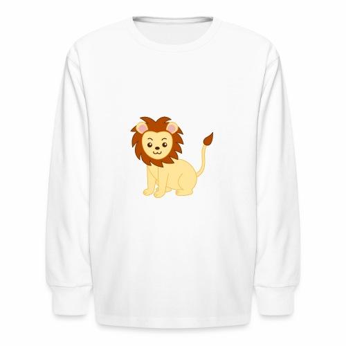 lionpouncing gaming merch - Kids' Long Sleeve T-Shirt