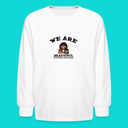 You are Beautiful Black Woman - Kids' Long Sleeve T-Shirt