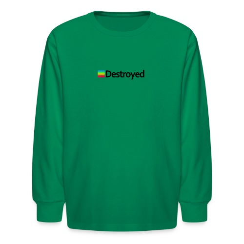 Polaroid Destroyed - Kids' Long Sleeve T-Shirt