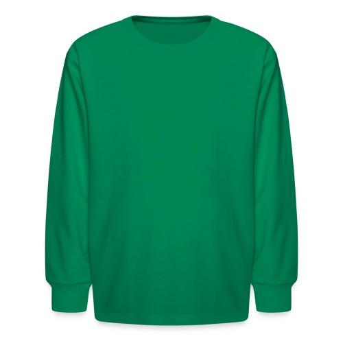 Weiser State Forest Keystone (w/trees) - Kids' Long Sleeve T-Shirt