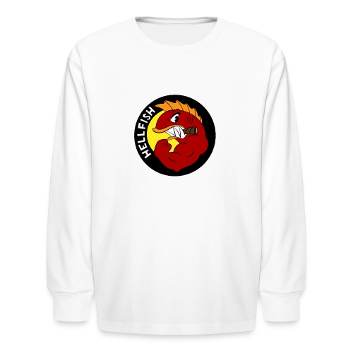 Hellfish - Flying Hellfish - Kids' Long Sleeve T-Shirt