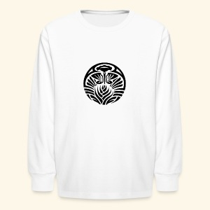 Tribal Tropic - Kids' Long Sleeve T-Shirt