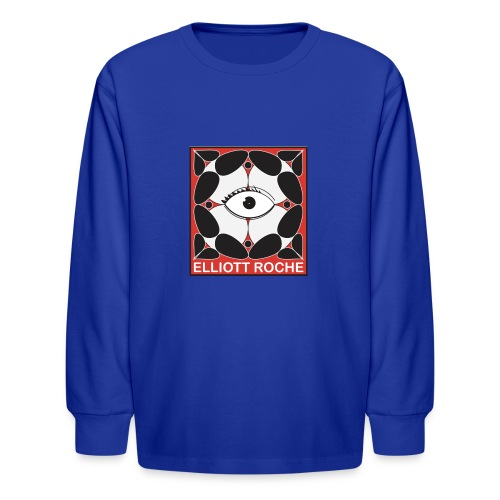 ElliottRedEye - Kids' Long Sleeve T-Shirt