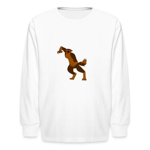 Werewolf Kiba - Kids' Long Sleeve T-Shirt