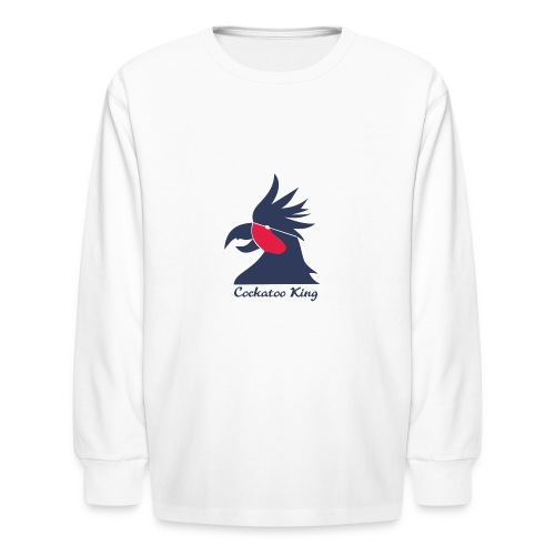 Cockatoo Logo - Kids' Long Sleeve T-Shirt