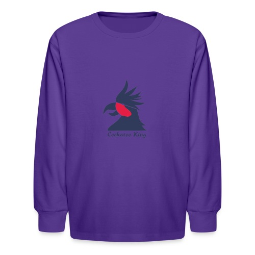 Cockatoo Logo - Kids' Long Sleeve T-Shirt
