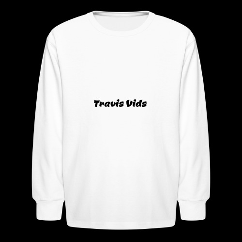 White shirt - Kids' Long Sleeve T-Shirt