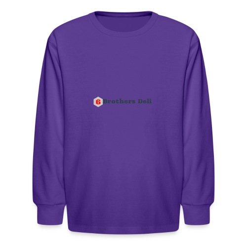 6 Brothers Deli - Kids' Long Sleeve T-Shirt