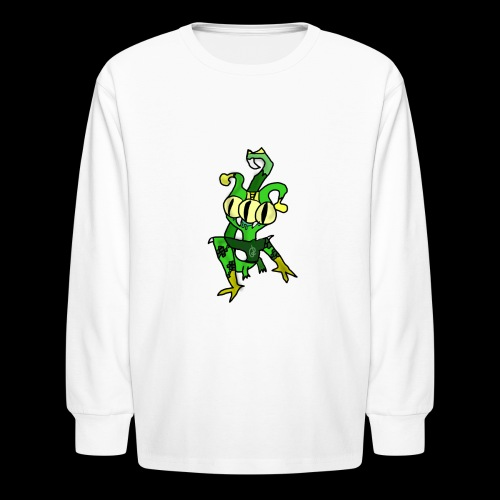Three-Eyed Alien - Kids' Long Sleeve T-Shirt