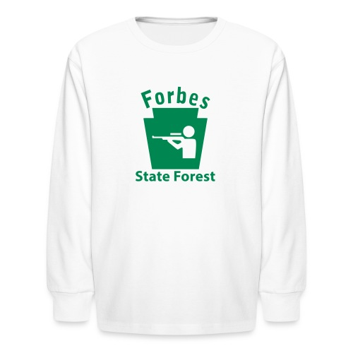Forbes State Forest Hunting Keystone PA - Kids' Long Sleeve T-Shirt