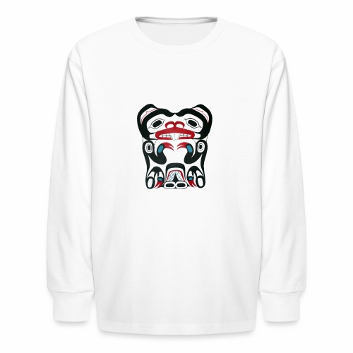 Eager Beaver - Kids' Long Sleeve T-Shirt