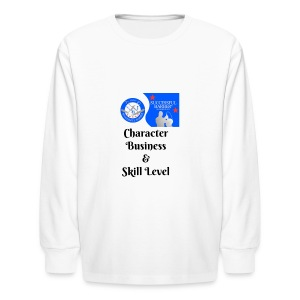 Character, Business & Skill Level - Kids' Long Sleeve T-Shirt