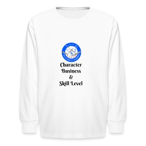 SB Seal Design - Kids' Long Sleeve T-Shirt