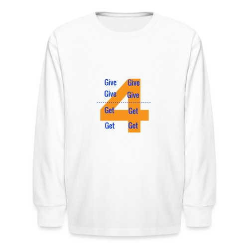 Forgive & Forget - Kids' Long Sleeve T-Shirt