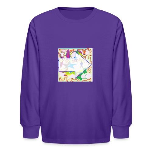 shapes - Kids' Long Sleeve T-Shirt