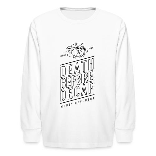 coffee cup - Kids' Long Sleeve T-Shirt