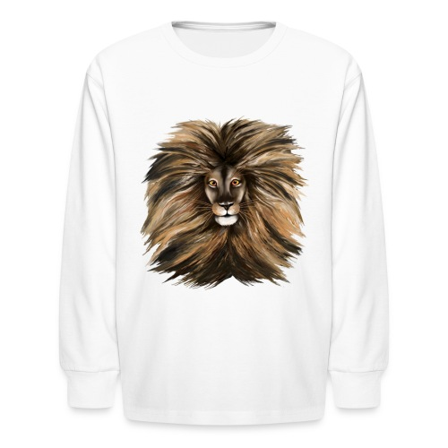 Big Cat - Kids' Long Sleeve T-Shirt