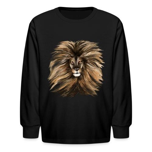 Big Cat - Kids' Long Sleeve T-Shirt