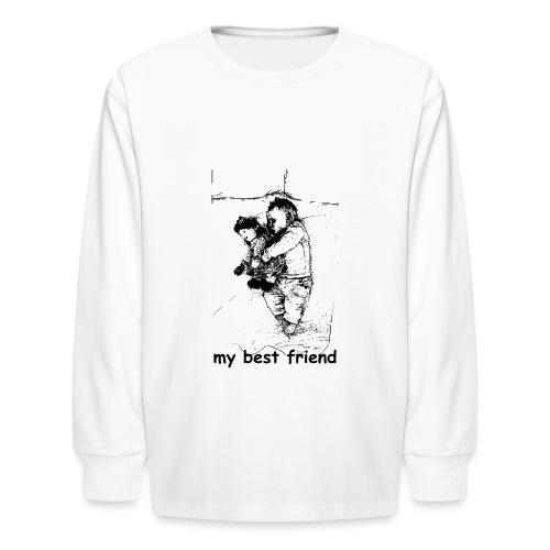 My Best Friend (baby) - Kids' Long Sleeve T-Shirt