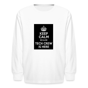 Tech Crew - Kids' Long Sleeve T-Shirt