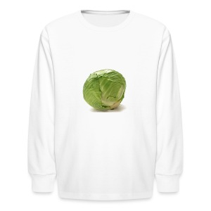 CabbageTexts Streetwear - Kids' Long Sleeve T-Shirt