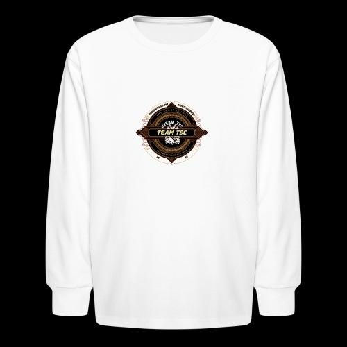 Design 9 - Kids' Long Sleeve T-Shirt